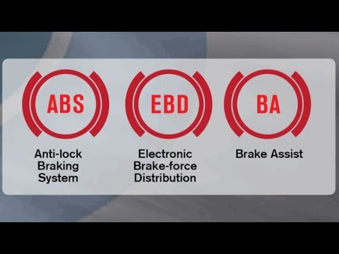 Electronic Brake force Distribution (EBD) & Break Assist (BA