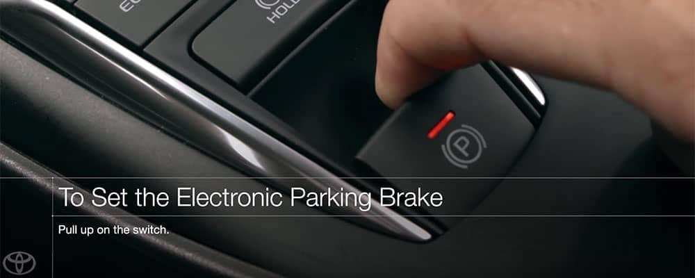 Toyota Electronic Parking Brake Brake Hold System Car Oman Digest
